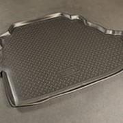 Коврик в багажник Toyota Camry 2006-2011 (V3.5 и V2.4 полиуретановый с бортиком) фото