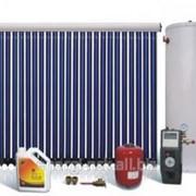Сплит-система солнечного водонагрева фото