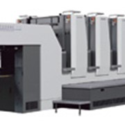 Печать формата В2 на новой 5-ти красочной KOMORI Lithrone 528 (520*720) фото