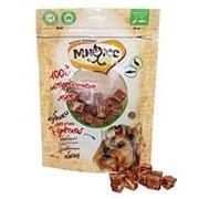Мнямс 100г Лакомство для собак Кубики из мяса утки с треской фото