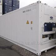 Рефрижераторный контейнер фото