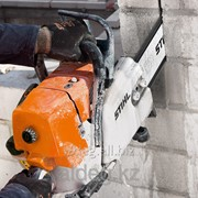 Цепной бензорез по бетону GS 461 фото