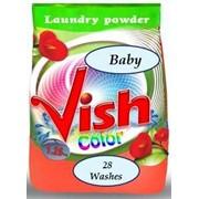 Бесфосфатный стиральный порошок Vish baby фото