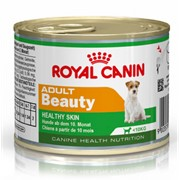 Mini Adult Beauty Royal Canin корм для щенков, От 10 месяцев до 8 лет, Банка, 0,195кг фото