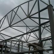 Ангары из легких металлоконструкций фото