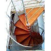 Винтовые лестницы из исскуственный камня на заказ по индивидуальным размерам фото