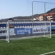 Футбольные ворота Porti fotbal profil patrat 5x2 m Cod 418 фото
