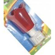 Ночник в розетку пластмассовый, 3 цвета, диаметр 5,5см, на листе, оптовая продажа, купить, цена фото