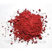 Пигмент красящий железоокисный для гипса и бетона КРАСНЫЙ фото