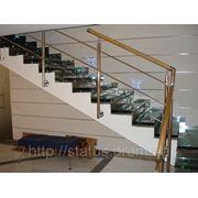 Стеклянные лестницы и Стеклянные полы фото