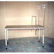 Стол операционный ветеринарный 1-секционный СОВ-2 фото