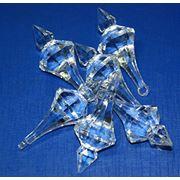 Бусины жемчужные (жемчуг) хрусталики искусственный лёд кристаллы фото