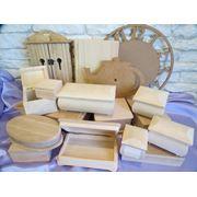 Заготовки для декупажа деревянные заготовки заготовки для часов шкатулки комодики купюрницы сундуки книжки. фото