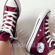 Кеды Converse All Star WineRed бордовые фото