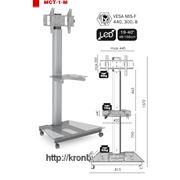 """Мобильная стойка для ЖК / Плазмы до 42"""" ( ElectricLight МСТ-1-М ) фото"""