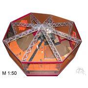 Макеты архитектурных форм магазинов и бутиков технологии: плоттерная и лазерная резки гравировка фрезеровка 3D-прототипирование фото