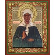Икона Святая блаженная Матрона Московская фото