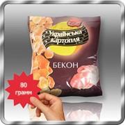 Картофельные снеки со вкусом бекона 80 грамм