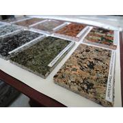 Каталог-коллекция образцов натуральных камней (граниты, лабрадорит, габбро - не полиграфия) фото