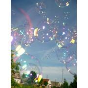 Шоу больших мыльных пузырей фото