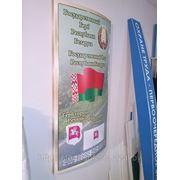 Символика Республики Беларусь (130*70 см) с бортом, обьемный фото