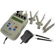 Микроомметр ЦС4105 предназначен для измерения электрического сопротивления постоянному току компонентов электрических цепей не находящихся под напряжением. фото