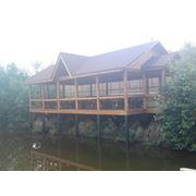 Рестораны из дерева фото
