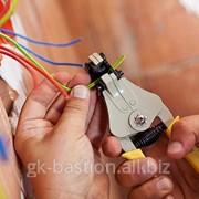 Монтаж внутренних систем электроосвещения фото