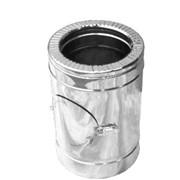 Ревизия дымоходная нерж/нерж Версия Люкс D-600/660 мм 1 мм фото