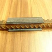 Скоба-накладка (ванночка) для сварки арматуры