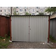 Гараж металлический стандартный 3х5х2 с односкатной крышей (скат назад),Киевская область, Черкасская обл. фото