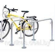 Велопарковка для одного велосипеда фото