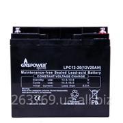 Cвинцово-кислотный аккумулятор для ИБП (UPS) Gaspower LPС 12-20 фото