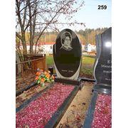 Памятник из натурального камня №259 фото