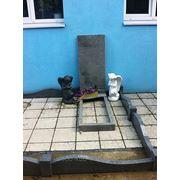 Памятник гранит СЕРЫЙ прямой 1000х500х50 форма 001 для оптовых клиентов 1 035000 руб. фото