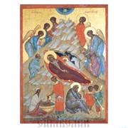 Икона Рождество Христово, XVIв. фото