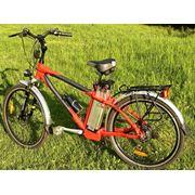 Электровелосипед туристический TOP LUX с аккумулятором LiFePo4 фото