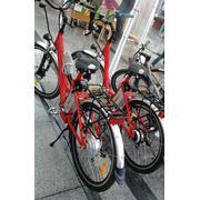 Электровелосипед городской TOP LUX -U с литий-фосфатным аккумулятором фото