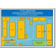Схема движения автотранспорта по территории предприятия фото