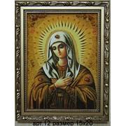 Иконы из янтаря арт.12 фото