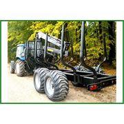 Прицеп тракторный лесовозный PALMS 142 (14т) фото