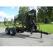 Прицеп тракторный лесовозный PALMS 142 4WD (14т) фото