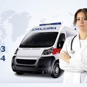 Транспортировка (перевозка) больного без ограничений расстояния фото