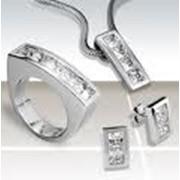 Изделия ювелирные из серебра фото