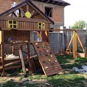 Детский комплекс уличный фото