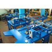 Линия склейки четырехклапанных гофроящиков (гофрокоробов). Оборудование для производства гофротары фото