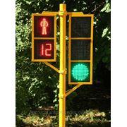 Светодиодные светофоры транспортные и пешеходные фото