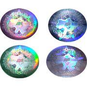 Пленки самоклеющиеся голографические фото