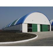 Ангары склады павильоны бытовки вагончики навесы промздания сельскохозяйственные здания и сооружения многоцелевого назначения. фото