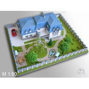Коттеджи  архитектурно-планировочные макеты технологии: плоттерная и лазерная резки гравировка фрезеровка 3D-прототипирование фото